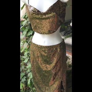 Dresses & Skirts - Two piece club dress